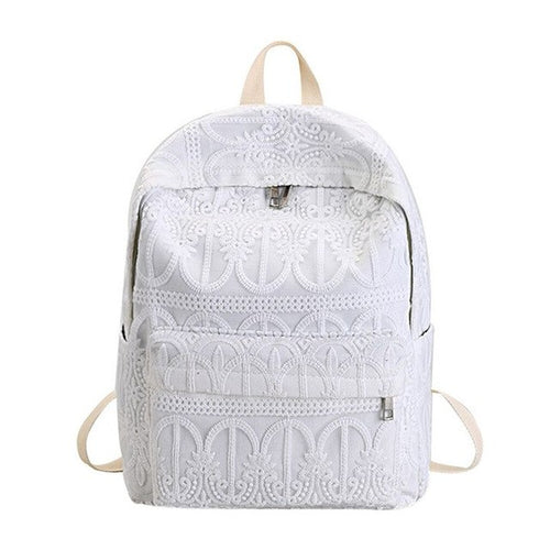 Lace Backpack - Angelic