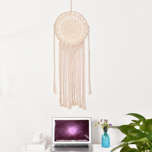Large Dream Catcher - Elegant Macrame