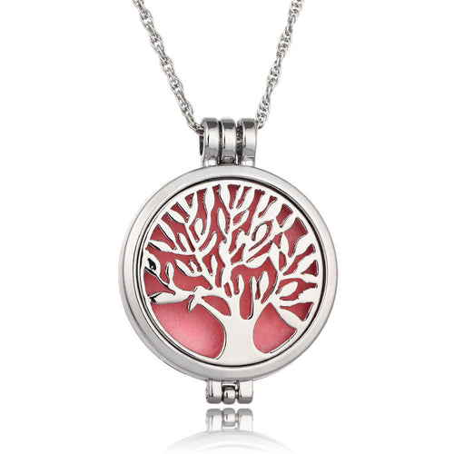 Tree of Life Aromatherapy Necklace - Several Colours