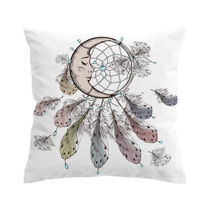 Moon Dream Catcher Cushion Cover / Pillowcase