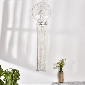 Woven Dream Catcher - Tree Of Life