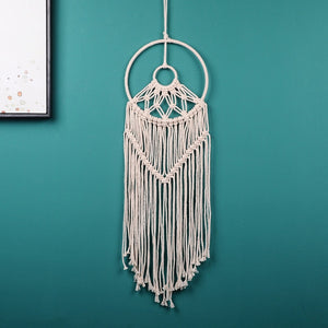 Macrame Dream Catcher - Beige Peace