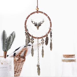 Reindeer Spirit - Mini Dream Catcher