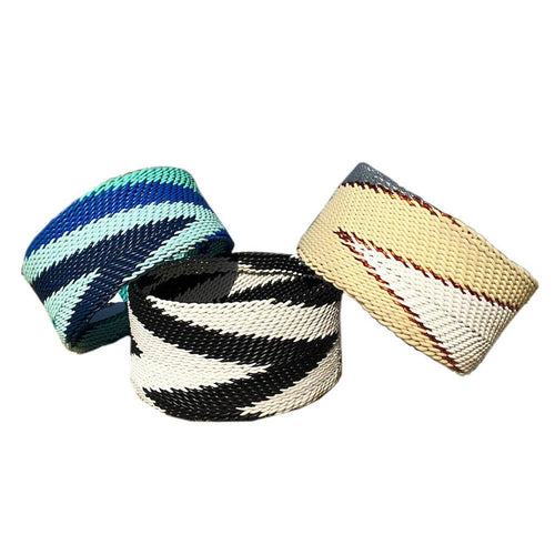 Ethnic Style Hand Woven Wire Bangles