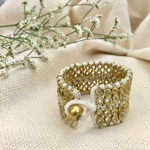 Riya Cuff Bracelet - Handmade in India