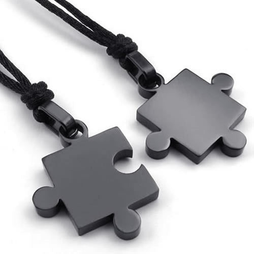 Puzzle Necklace Set