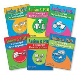 Autism & PDD Concept Development: 6-Book Set by Pam Britton Reese & Nena C. Challenner