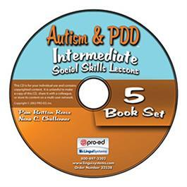 Autism & PDD Intermediate Social Skills Lessons: 5-Book Set on CD by Pam Britton Reese & Nena C. Challenner