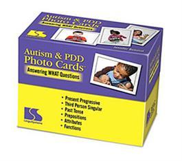 Autism & PDD Photo Cards: Answering WHAT Questions by Jennifer Benoliel