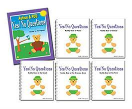 Autism & PDD Yes/No Questions 5-Book Set by Beth W. Respess
