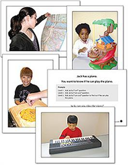 Autism & PDD Photo Cards: Asking Questions by Jennifer Benoliel