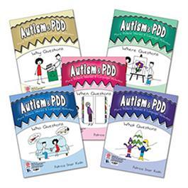 Autism & PDD More Picture Stories & Language Activities: 5-Program Set by Patricia Snair Koski