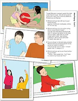 No-Glamour Social Language/Behavior Cards by Carolyn LoGiudice &Nancy McConnell & Margaret Warner