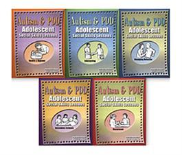Autism & PDD Adolescent Social Skills Lessons, 5-Book Set by Pam Britton Reese & Nena C. Challenner