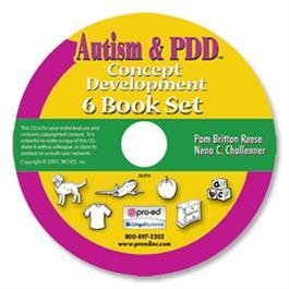 Autism & PDD Concept Development: 6-Book Set on CD by Pam Britton Reese & Nena C. Challenner