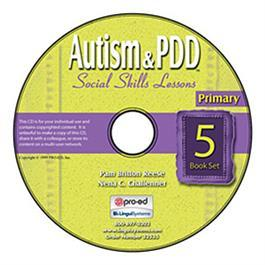 Autism & PDD Primary Social Skills Lessons 5-Book Set on CD by Pam Britton Reese & Nena C. Challenner
