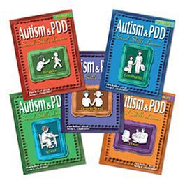 Autism & PDD Primary Social Skills Lessons: 5-Book Set by Pam Britton Reese & Nena C. Challenner