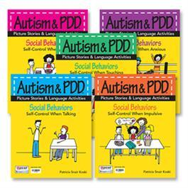 Autism & PDD Picture Stories & Language Activities Social Behaviors: 5-Program Set by Patricia Snair Koski