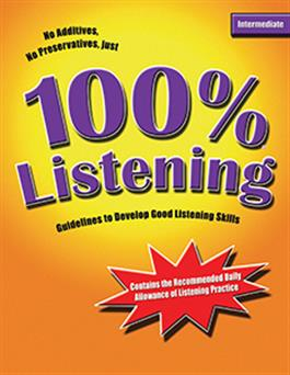100% Listening Intermediate LinguiSystems
