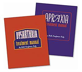 Apraxia and Dysarthria Treatment Manuals COMBO By Beth Kaufman-Katz
