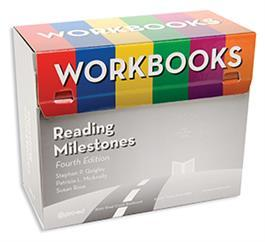 27292075 Reading Milestones–Fourth Edition, Level 1 (Red) Workbooks Kit by Stephen P
