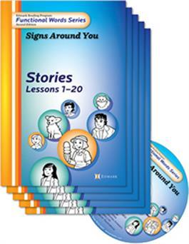 Edmark Reading Program Functional Words Series – Second Edition: Signs Around You, Stories Kit