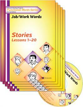 Edmark Reading Program Functional Words Series – Second Edition: Job/Work Words, Stories Kit