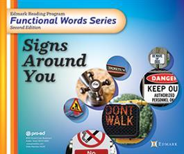 Edmark Reading Program Functional Words Series – Second Edition: Signs Around You, Complete Kit
