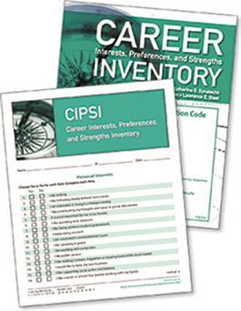 Career Interests, Preferences, and Strengths Inventory (CIPSI) Online - 25 Users + 25 Print Inventory Booklets