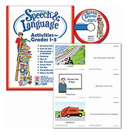 Speech & Language Activities for Grades 1-3 By Kristin Becker