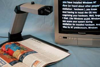 Electronic Magnifier