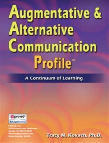 Augmentative & Alternative Communication Profile