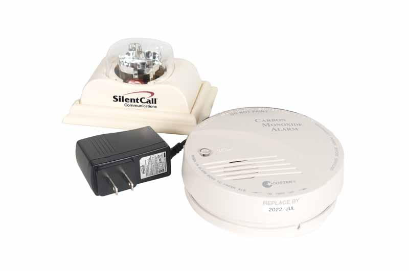 Stand Alone CO Detector With Strobe