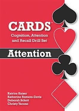 CARDS Cognition, Attention, and Recall Drill Set—Attention
