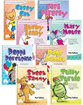 Early Phonological Awareness Stories: 8-Book Set by Pat Tulloss