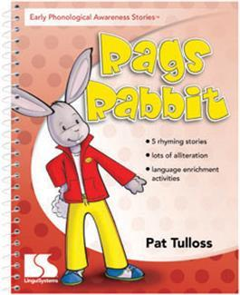 Early Phonological Awareness Stories: Rags Rabbit by Pat Tulloss