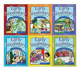 Early Vocabulary Storybooks: 6-Book Set by Rosemary Huisingh