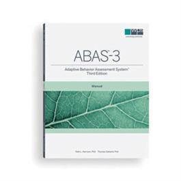 Adaptive Behavior Assessment System–Third Edition (ABAS-3) Comprehensive Kit by Patti L. Harrison & Thomas Oakland
