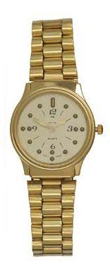Montiel Braille Watch Gold face