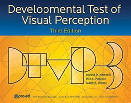 DTVP-3: Developmental Test of Visual Perception – Third Edition By Donald D. Hammill And Nils A. Pearson And Judith K. Voress
