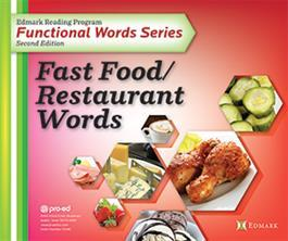 Edmark Reading Program Functional Words Series – Second Edition:  Fast Food/Restaurant Words, Photo Cards