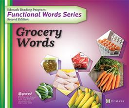 Edmark Reading Program Functional Words Series – Second Edition: Grocery Words, Complete Kit