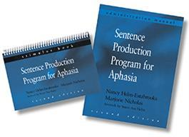 Sentence Production Program for Aphasia: (Formerly the HELPSS program)