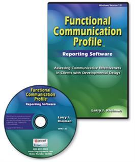 Functional Communication Profile–Revised (FCP-R) Reporting Software By  Larry Irwin Kleiman