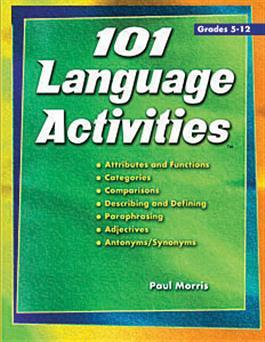 101 Language Activities By Paul Morris