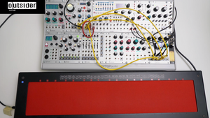 TEST SERIES Intellijel Plonk Rainmaker Eurorack with Haken Continuum Fingerboard