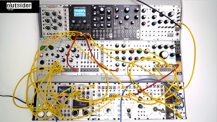 TEST SERIES Erica Synths Graphic VCO Eurorack