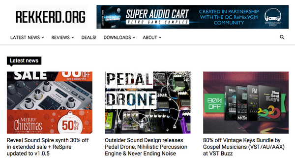 Post 11 - Featured On Rekkerd org – outsidersounddesign