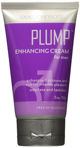 1-3 Day Delivery  - Doc Johnson Plump - Enhancing Cream For Men - Enhances Thickness and Size for Intense Pleasure
