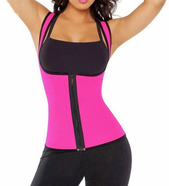Womens  Cami Hot Thermal Shirt Body Zippered